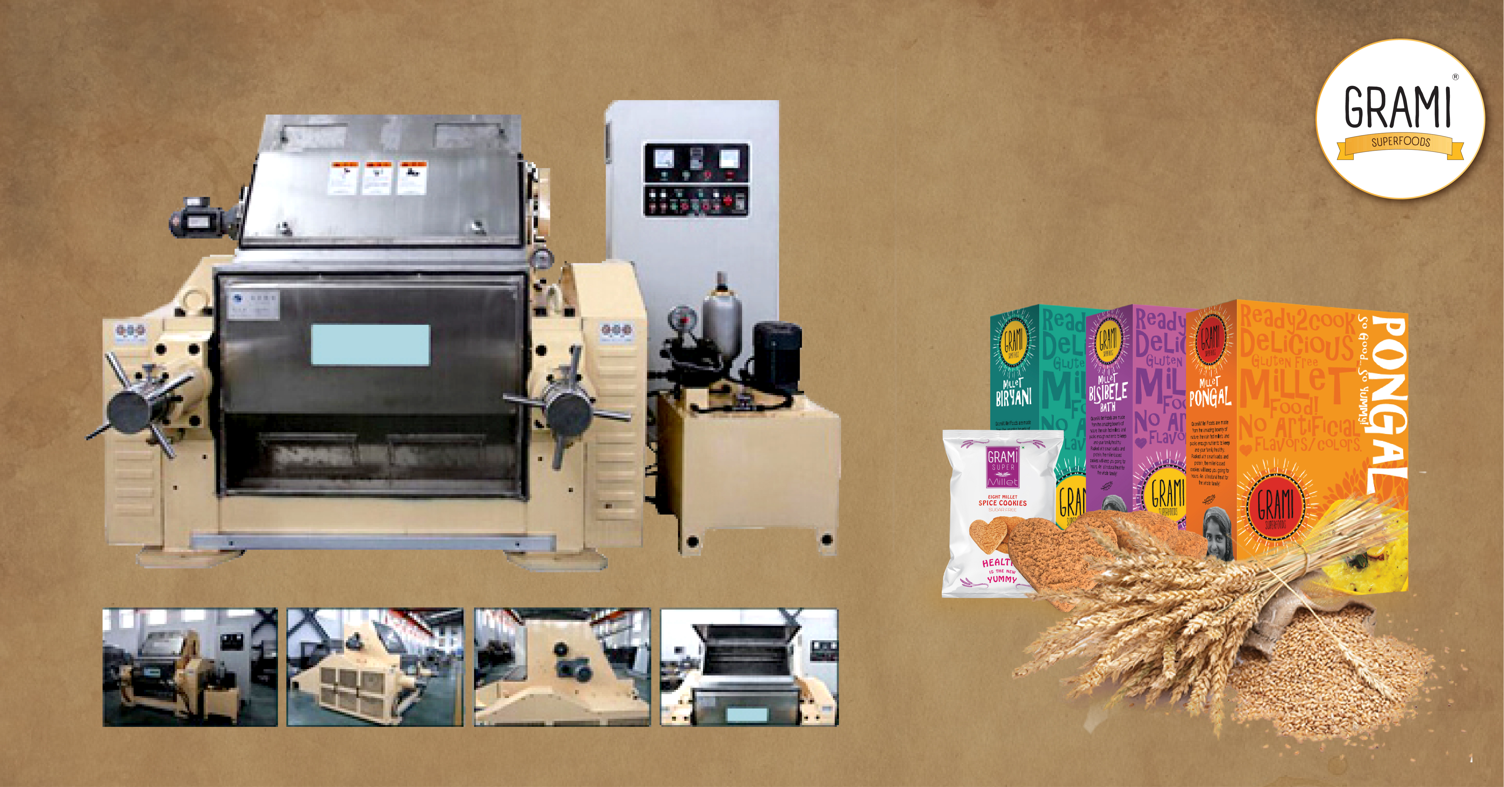 millet processing technologies